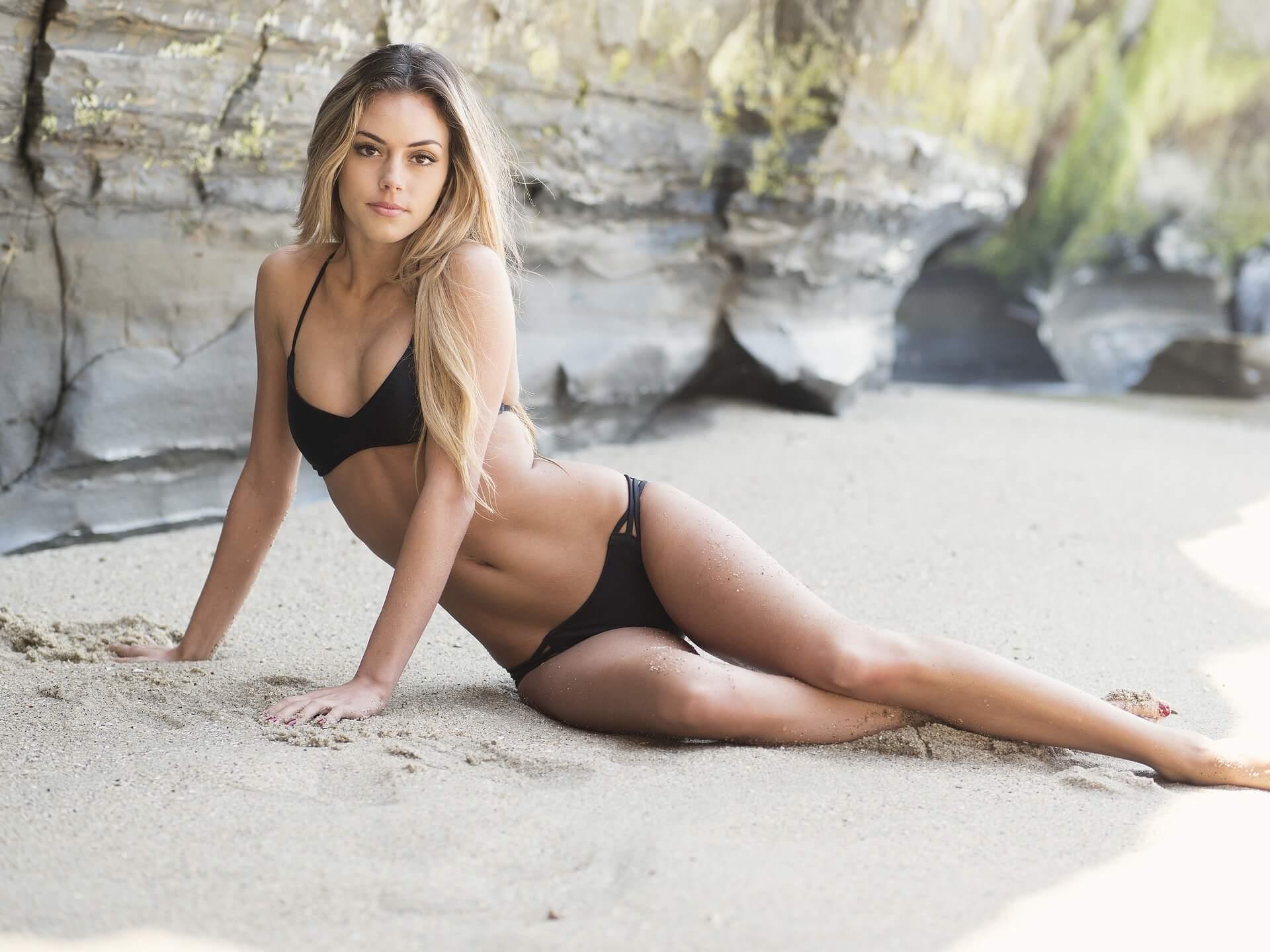 Pornodarstellerin werden Outdoor Strand